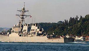 ABD Sahil Güvenlik Gemisi, Karadeniz'den Ayrıldı