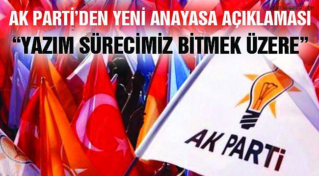 "Ak Parti'den ""Yeni Anayasa"" Açıklaması"