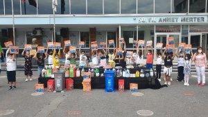 Atık Pillerini Belediyeye Getiren Öğrencilere Hediye