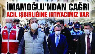 """Ekrem İmamoğlu: """"İstanbullulara Çağrıda Bulunuyorum"""""""