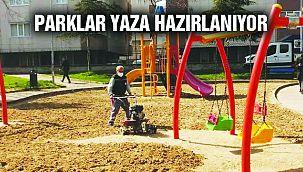 Kartal'da Yeşil Alanlar ve Parklar Yaza Hazırlanıyor