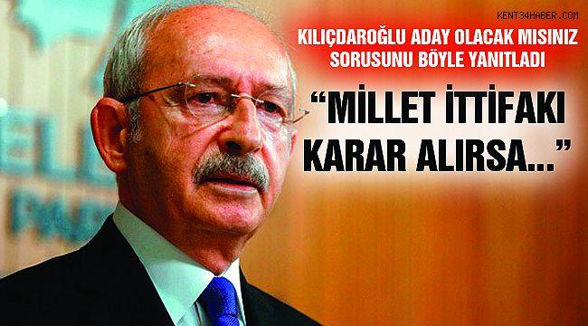 """Kemal Kılıçdaroğlu'ndan """"Adaylık"""" Açıklaması"""