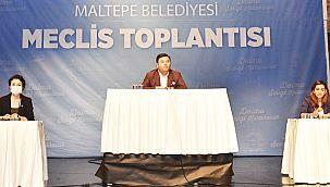"""Maltepe Belediye Meclisi'nden """"Filistin Halkının Yanındayız"""" Mesajı"""