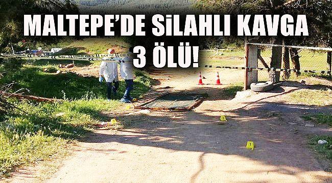Maltepe'de Silahlı Kavga! 3 Ölü