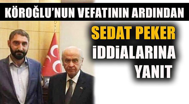 """MHP'li Köroğlu'nun Avukatından """"Peker İddialarına"""" Açıklama"""