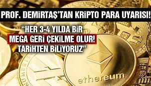 Özgür Demirtaş'tan Kripto Para Uyarısı