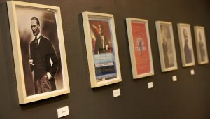 'Sanatçı Yorumlarıyla Atatürk' Resimleri Sergisi