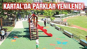 Yenilenen Parklar Pandemi Döneminde Vatandaşların Hizmetinde