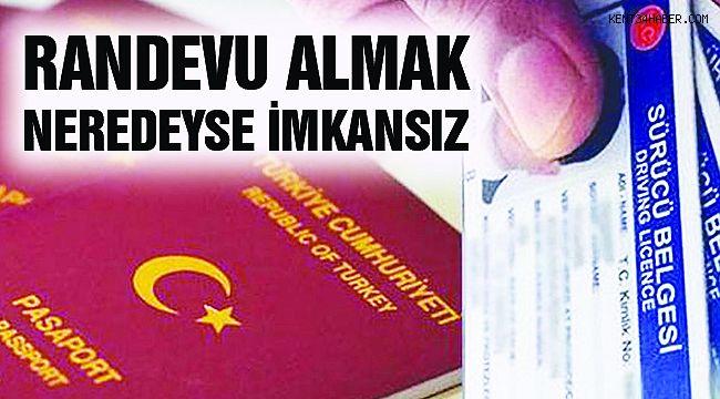 Ehliyet ve Pasaport İşlemlerinde Yoğunluk!