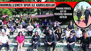 Hafta Sonu Sporuna Geniş Katılım