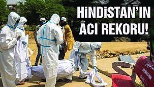Hindistan Ölüm Sayısında Rekor Kırdı!