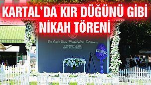 Kır Düğünü Konseptinde Nikah