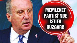 Memleket Partisi'nde İstifa!