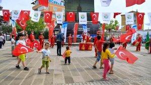 Tuzla'da İstanbul'un Fethi Mehter Takımıyla Kutlandı
