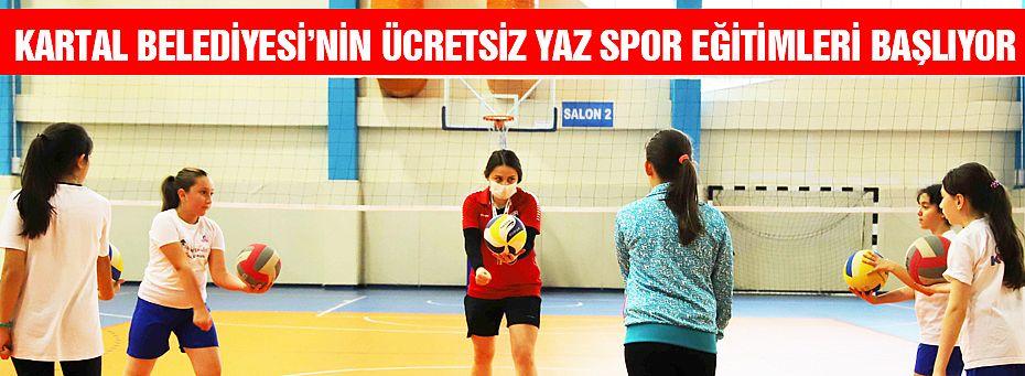 Çocuklar İçin Ücretsiz Yaz Spor Eğitimleri Başlıyor