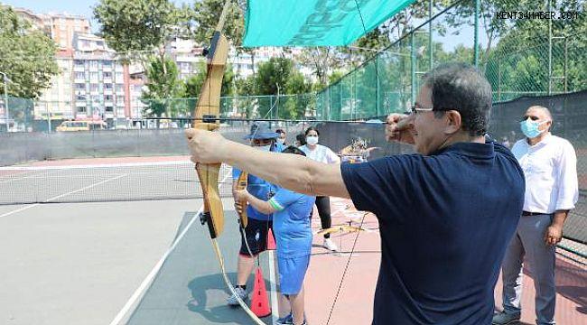 Eyüpsultan'da Yaz Spor Okulları Öğrencilerine Şenlik