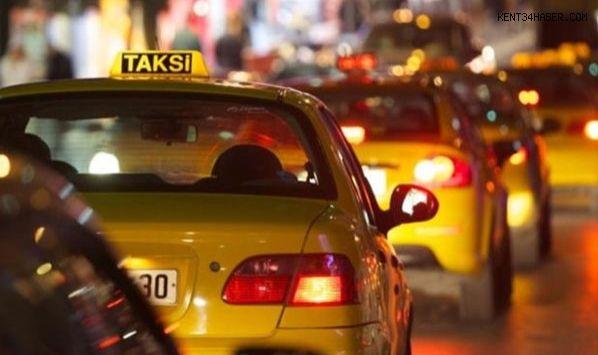 Taksilerde Flaş Gelişme
