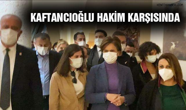 Canan Kaftancıoğlu Hakim Karşısına Çıktı