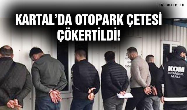 Kartal'da bulunan Yediemin Otoparkına Operasyon!