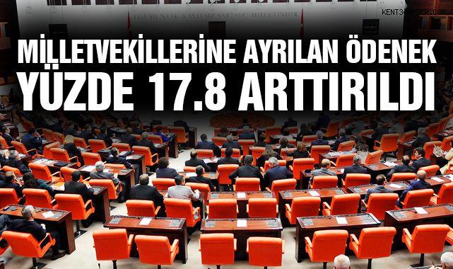 Milletvekillerine Ayrılan Ödenek Yüzde 17.8 Arttırıldı