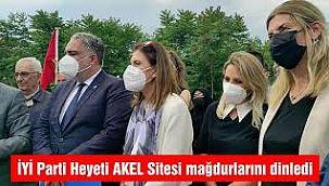 AKEL Sitesi Mağdurlarına İYİ Parti Ziyareti