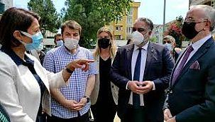 İYİ Parti Heyetinden Kartal'a Ziyaret